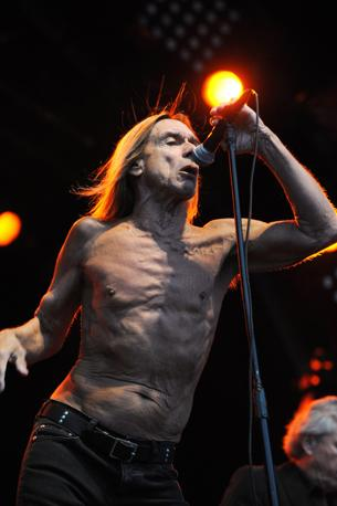 Iggy Pop, 64 (Afp)