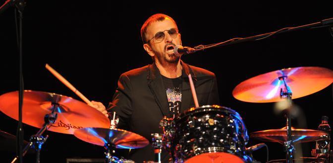Ringo Starr, 70 (Afp)