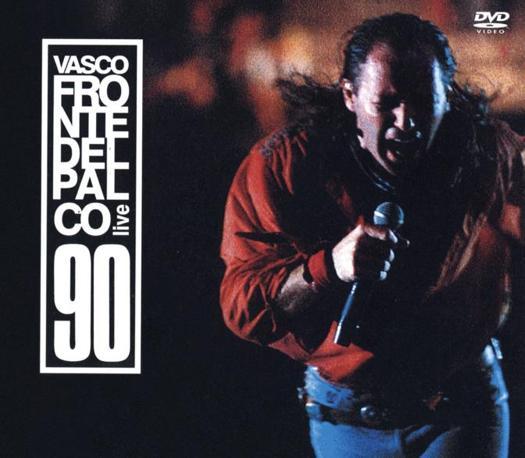 ...che prelude alla prima grande tournée negli stadi, «Fronte del Palco»: Vasco è il primo italiano a riempire S.Siro, nel 1990