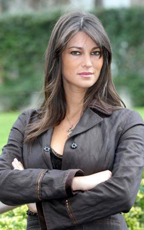 Manuela Arcuri alla presentazione del film