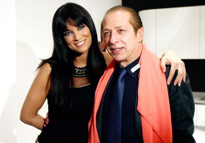 Manuela Arcuri e Paolo Berlusconi (Olycom)