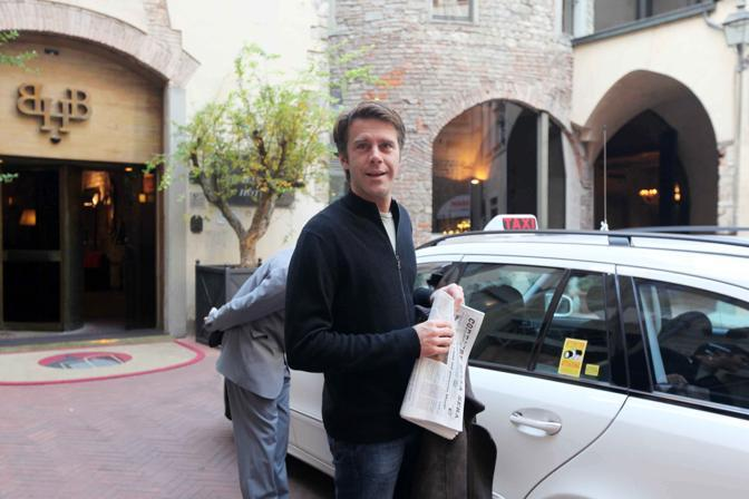 I personaggi del jet set e i taxi for Brunelleschi hotel milano