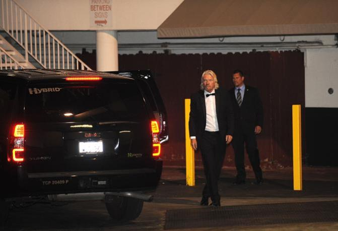 Richard Branson, patron della Virgin (Afp)