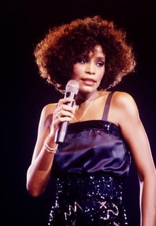 Durante un concerto a Londra negli anni '80 (Photomasi)