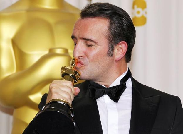 Ancora uno scatto di Dujardin, miglior attore per «The Artist» (Reuters)