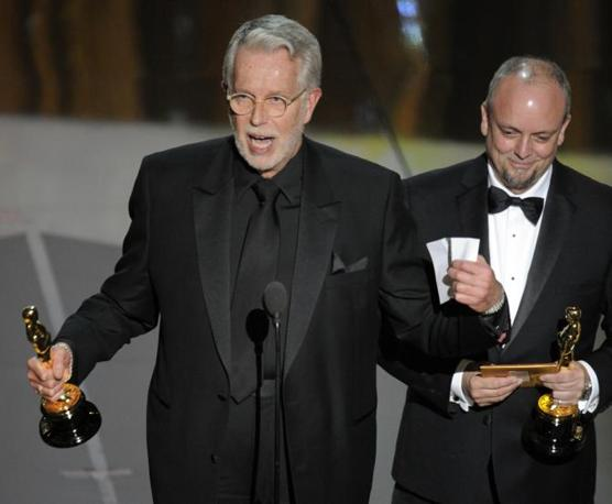 J. Roy Helland e Mark Coulier, miglior trucco per «The Iron Lady» (Ap)