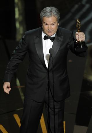 Gore Verbinski, autore del miglior film d'animazione, «Rango» (LaPresse)