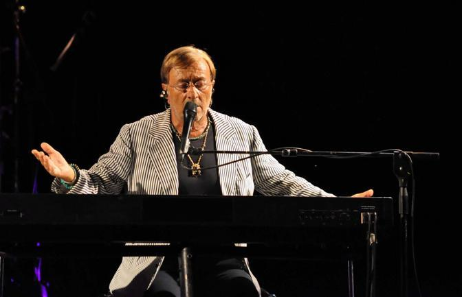 Lucio Dalla in concerto al Festival di Mezza Estate 10 settembre 2011  (Ansa/Rastelli)