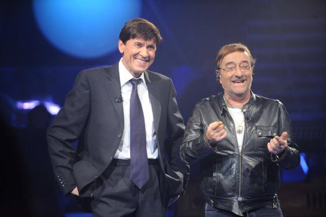 Con Gianni Morandi (Pelia)