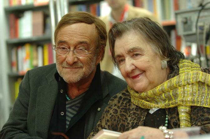 Con Alda Merini