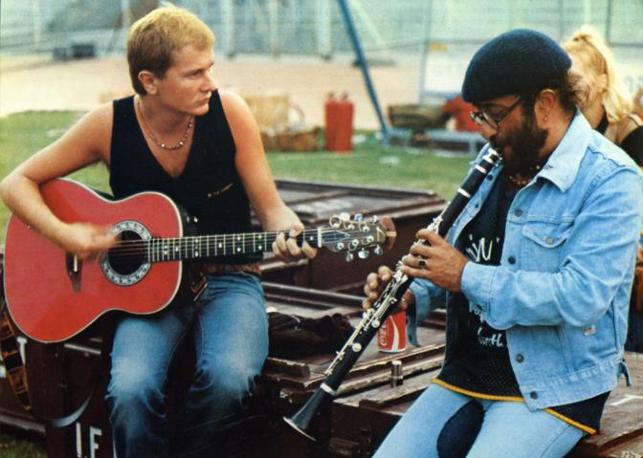 Con Ron nel 1979 (Fotogramma)