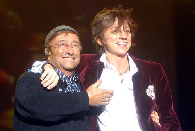 Con Gianna Nannini a Bologna nel 2006 (Fotogramma)