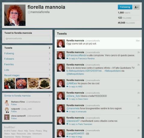 """Il saluto di Fiorella Mannoia """"Oggi siamo tutti più soli"""""""