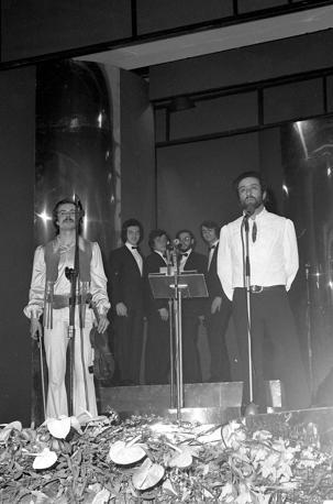 Dalla al Festival di Sanremo del 1971 (Olycom)