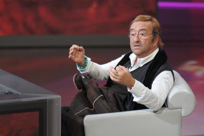 """Ospite del programma tv """"Che tempo che fa"""" (Olycom)"""