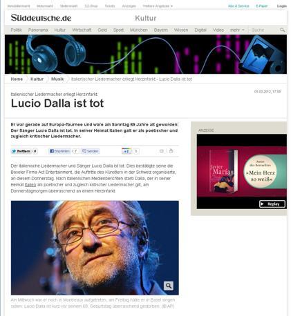 La Suddeutsche Zeitung