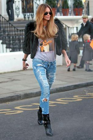 I Jeans Delle Star Tutti Strappati