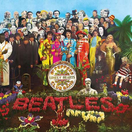 Ecco la copertina originale del capolavoro beatlesiano, Sgt.Pepper's Lonely Hearts Club Band: sono passati 45 anni dalla sua uscita.