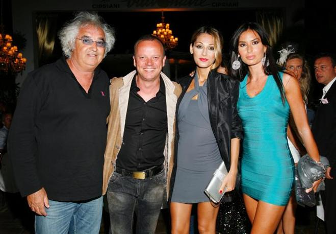 Anche  Gigi D&#39;Alessio e Anna Tatangelo alla serata 