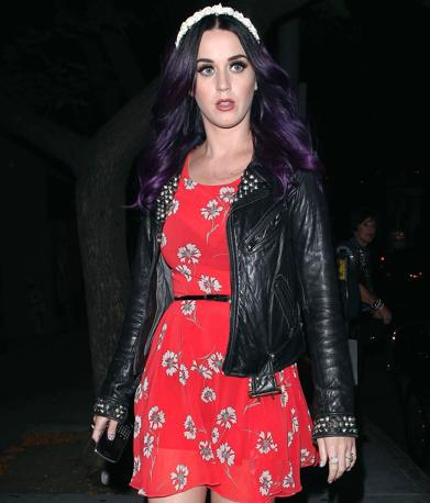 Nuovo look per Katy Perry (Olycom)