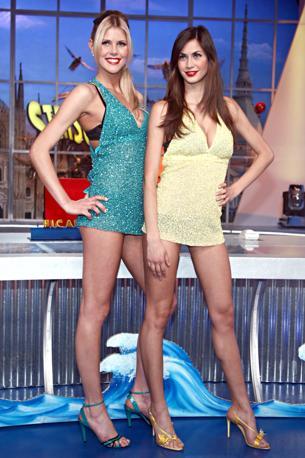 Veline story: Melissa Satta e Veridiana Mallmann (Olycom)