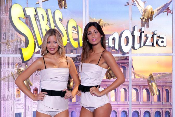 Veline story: Vincenza Caracciolo e Fedrica Nargi (Olycom)