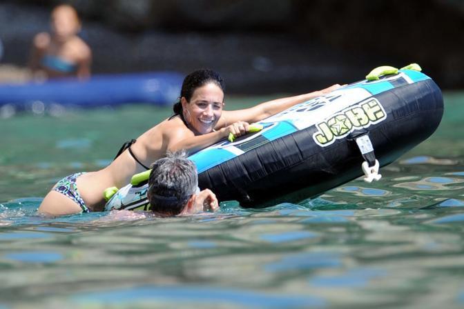 Randi Ingerman si rilassa a Ponza con il fidanzato Stefano (Olycom)