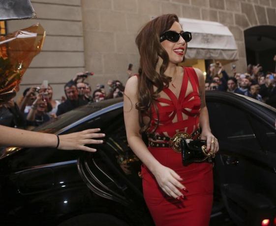 Lady Gaga a Milano (LaPresse)