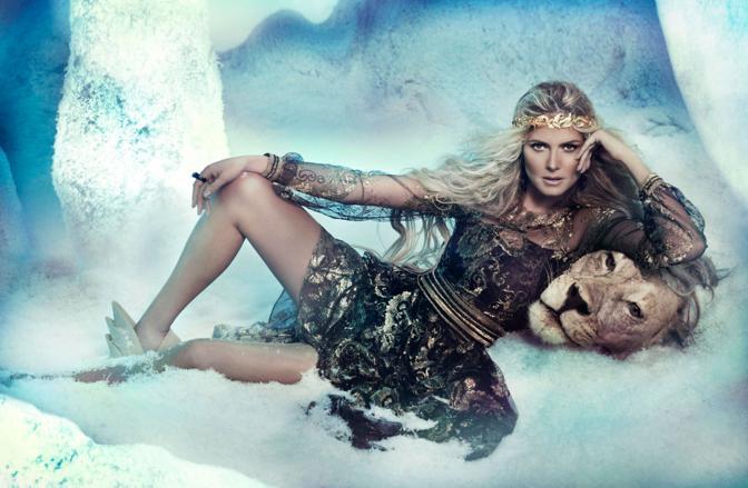 Heidi confessa: �Recito la parte della donna dei sogni solo sul set. Fuori, sono una persona normale�