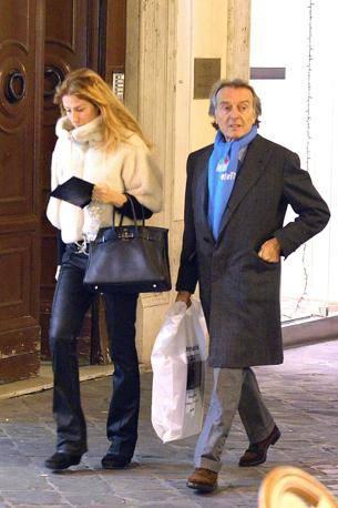 Shopping natalizio per Luca di Montezemolo
