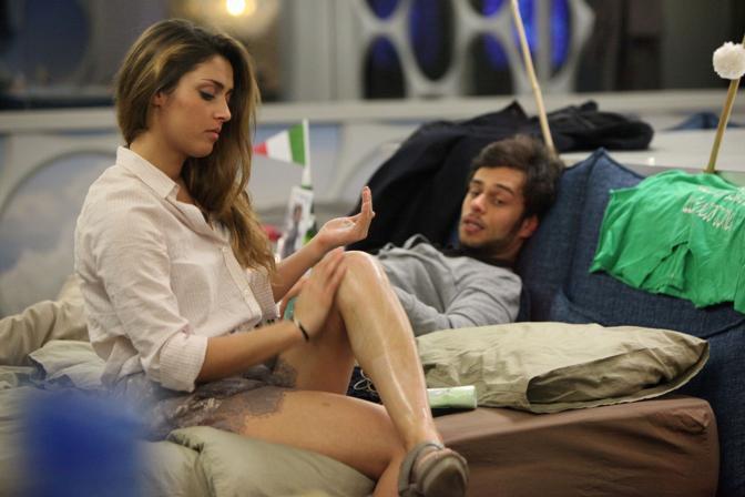 Davide ed Erinella (Olycom)