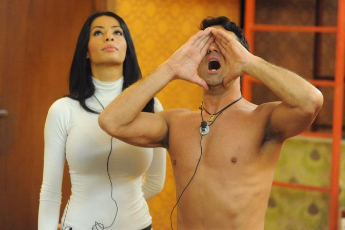 Jimmy e Valentina (Olycom)