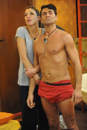Jimmy e Margherita (Olycom)