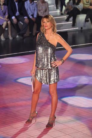 La conduttrice Alessia Marcuzzi