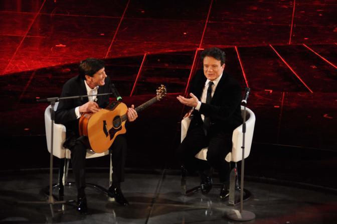 Morandi con Massimo Ranieri (Liverani)