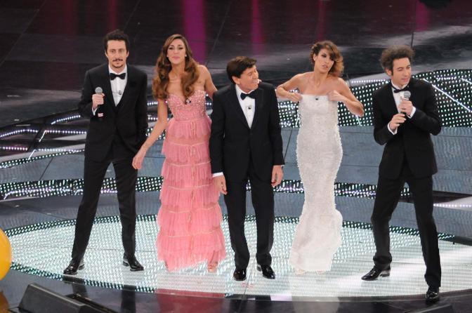 Festival di Sanremo, serata finale sul palco dell'Ariston (Liverani)