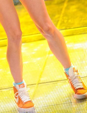 Scarpe da ginnastica per Eliza Doolittle (Ansa)