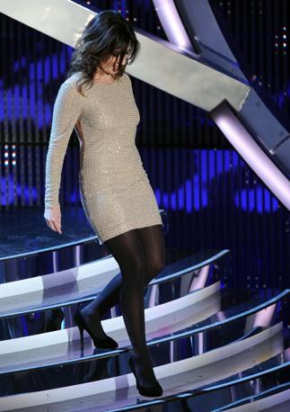 Chiara Civello in gara con la canzone «Al posto del mondo» (Ansa)