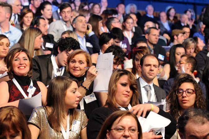 All'inizio della serata, si sono verificati problemi con il televoto (LaPresse)
