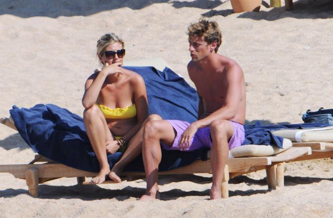 Claudio Marchisio con la fidanzata in vacanza a Porto Cervo (Olycom)
