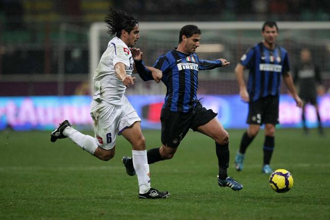 Inter-Fiorentina: Quaresma in azione (LaPresse)