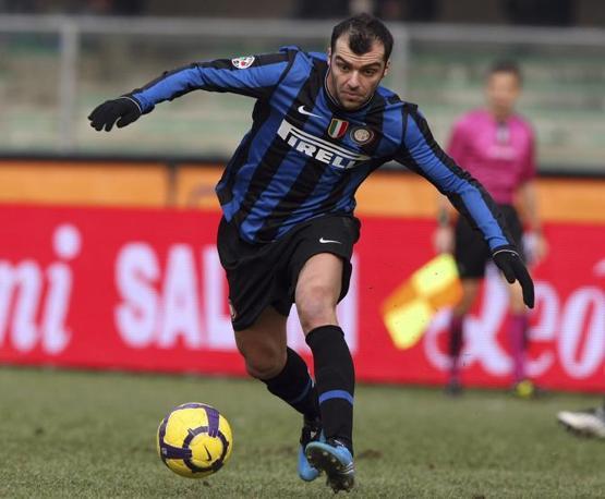 Chievo-Inter: debutto di Goran Pandev con la maglia nerazzurra (Franco Debernardi/Ap)