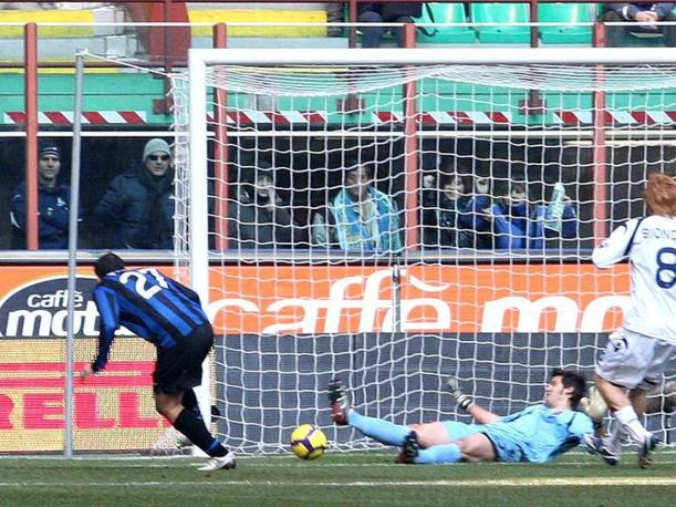 Inter-Cagliari: Pandev sblocca il risultato (Fotopress)