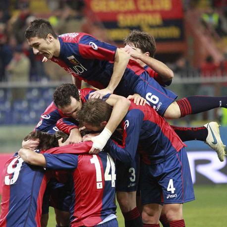 Genoa-Udinese: la festa dei liguri (Lapresse)