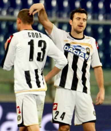 Genoa-Udinese: Lukovic e Coda (Ap)