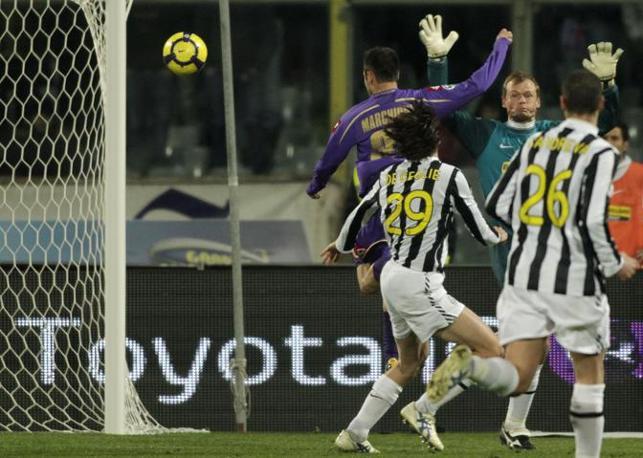 Fiorentina-Juventus: Marchionni porta in pareggio la Fiorentina (Ap)