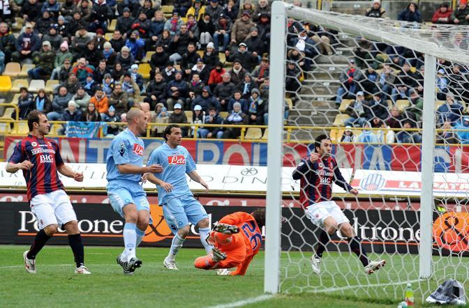 Bologna-Napoli: il gol di Adailton (Liverani)