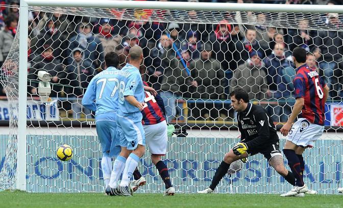 Bologna-Napoli: il gol di Rinaudo (Liverani)