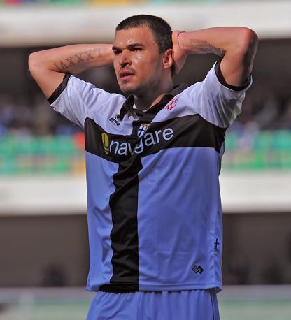 Chievo-Parma 0-0: Bojinov non è riuscito a sbloccare la partita (LaPresse)