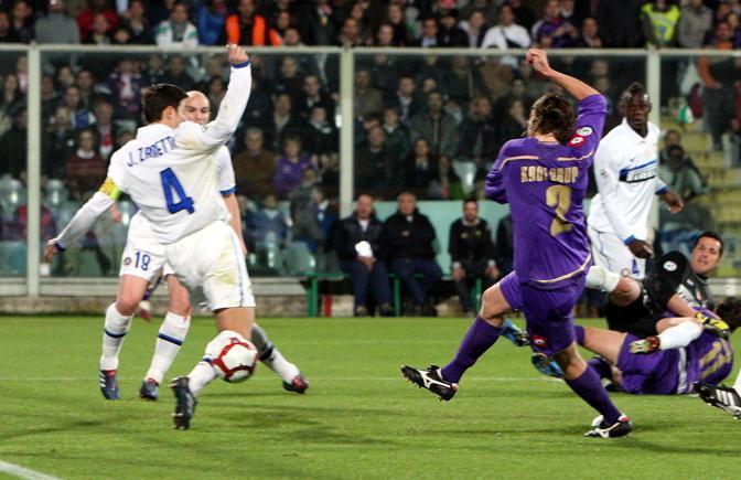 Fiorentina-Inter: un gol di Kroldrup chiude la partita sul 2-2 (Pegaso)
